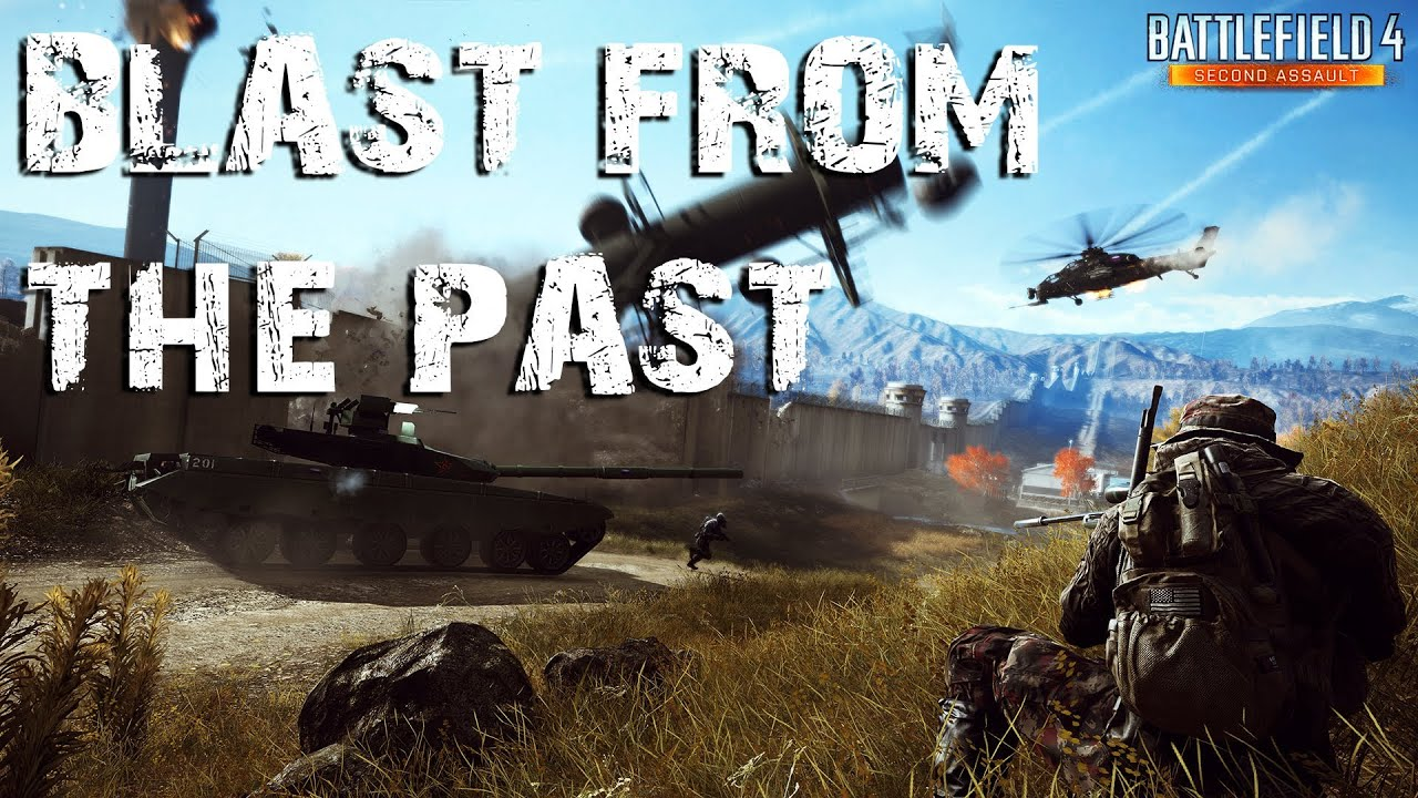 Battlefield 4 caspian border a blast from the past pc max settings youtube