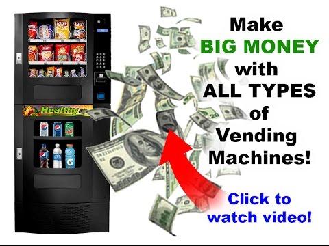 Vending Machine Business Startup