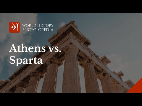 Athens vs Sparta: Deep Thinkers vs Military Might?