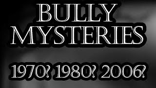 Bully Mysteries - What Year Is Bully Set In? (Episode 1)
