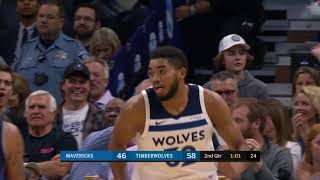 Dallas Mavericks vs. Minnesota Timberwolves - November 4, 2017