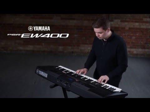 Yamaha PSR-EW400 Overview