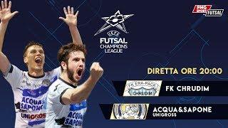 UEFA Futsal Champions League - FK Chrudim vs Acqua & Sapone Unigross thumbnail