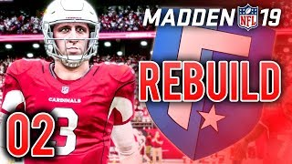 Madden 19 franchise rebuild ep.2 - josh rosen's debutthe series truly begins today with the debut of rookie qb, rosen. we begin car...