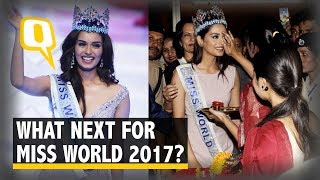 Miss World 2017 Returns Home, What is Manushi's Plan Ahead? | The Quint