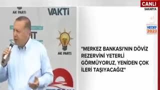 Erdoğan: Eğer her eve buzdolabı giriyorsa refah seviyesi var demektir.
