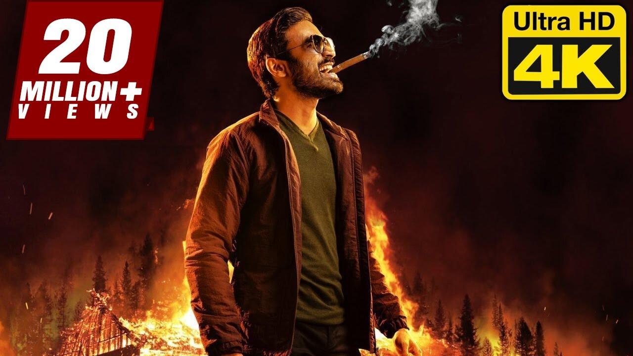 Download DHANUSH (4K ULTRA HD) Tamil Action Superhit Hindi Dubbed Full Movie   Andrea Jeremiah