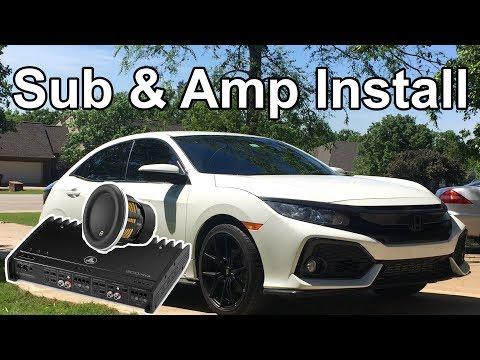Aftermarket Sub/Amp Full Install | 10th Gen Honda Civic