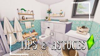 8 ASTUCES DÉCO À CONNAÎTRE JEU DE BASE | TIPS - TUTO / Les Sims 4