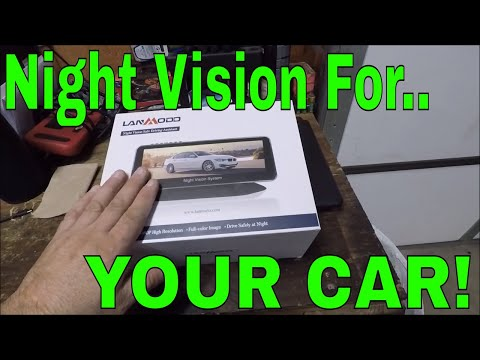 Driving At Night Has NEVER Been Easier!  THIS IS CRAZY! (Lanmodo Night Vision System Review)