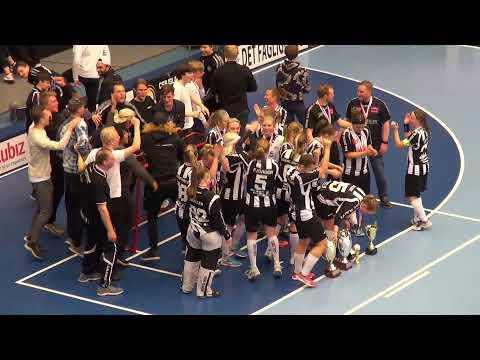 Finale Damer 2019 - Copenhagen FC Vs. AaB Floorball - Floorball Superfinaler