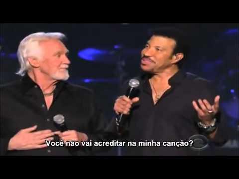 KENNY ROGERS & LIONEL RICHIE - LADY-  LEGENDADO EM PORTUGUÊS BR