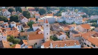 Sveti Filip i Jakov - Camping Đardin - August 2018 part.2 - DJI Spark