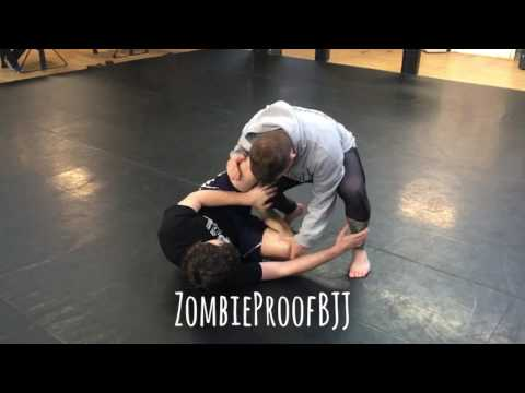 Oliver Taza vs Josh Hayden (Part 1: Inside Control Trick) - ZombieProofBJJ (BreakDown)