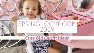 SPRING LOOKBOOK 2019   Cute Outfits for Girls   Jennese Ariela