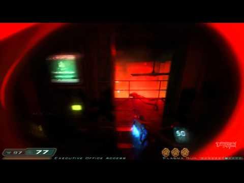 Doom 3: RoE Walkthrough Part 11 HD - Delta Labs - Unknown: Union Aerospace Research Division