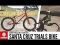 Danny MacAskill's One Off Santa Cruz Trials Bike | GMBN Pro Bikes