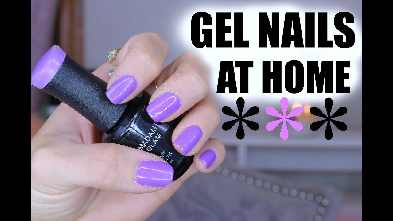 THE Best Gel Manicure AT HOME?! | REVIEW | Valerie Pac - YouTube
