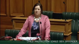 Child Protection (Child Sex Offender Government Agency Registration) Amendment Bill - Committee St..