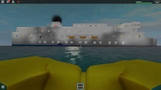 TIMELAPSE | Roblox Sinking Ship ~video by CityBuilder_3474~