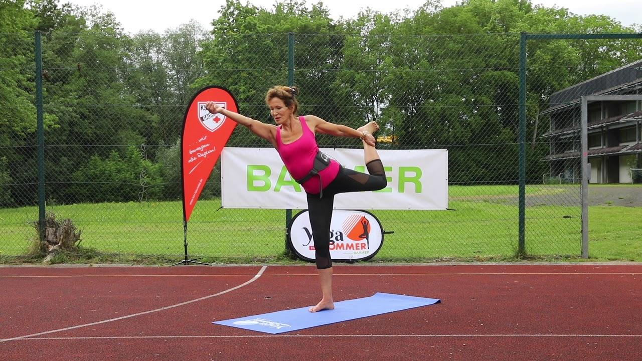 Yoga für zuhause: Die Yogasommer-Stunde mit Marion