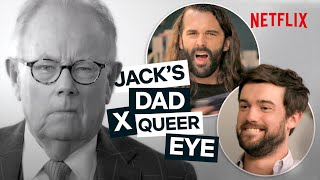 When Jack Whitehall (and His Dad) Met Queer Eye