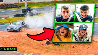 VIRAMOS PILOTOS DE DRIFT NA LOUD!!