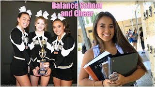 How to Balance School and Cheer!