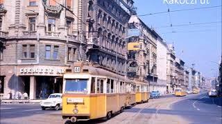 Budapest régi képeken 1968 - 1971