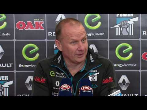 Hinkley post-match v Suns, Round 23, 2016