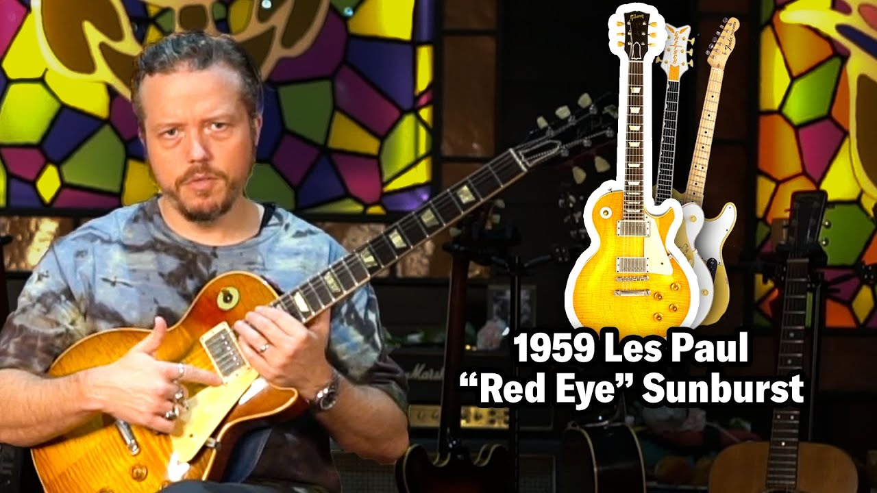Jason Isbell Shows Us His Rarest Guitars (ft. $200K Les Paul