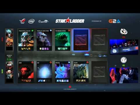 iG vs VG - Starladder XII - LAN Finals - Grand Finals - G4