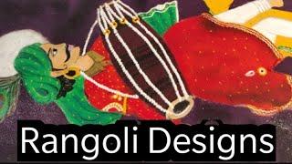 Simple Diwali rangoli design using diya   Diya Rangoli   Laxmi Pooja & Diwali Rangoli