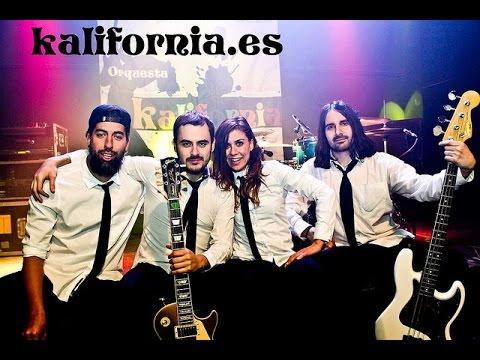 Orquestas para bodas y fiestas Kalifornia. Melancolia - Camilo Sesto