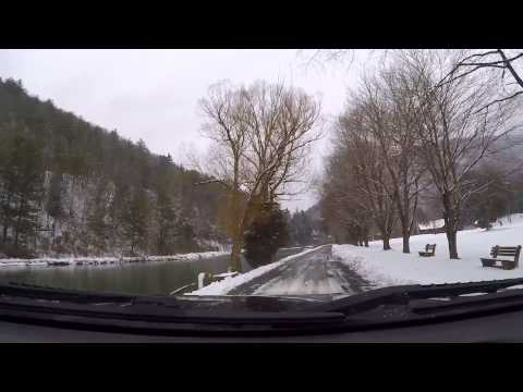 Drive from Waterville to Blackwell Pine Creek PA GoPro Hero 4