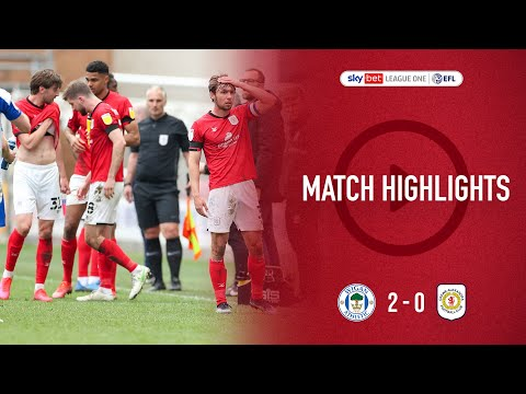 Wigan Crewe Goals And Highlights