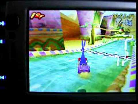Crash Bandicoot Nitro Kart 3D n-gage on N95 S60v3 Symbian