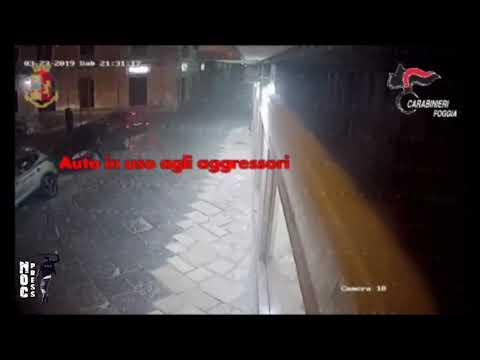 """Foggia. [VIDEO] Operazione """"Chorus II"""", rapinavano e estorcevano. Sgominata banda criminale e costola della mafia foggiana"""