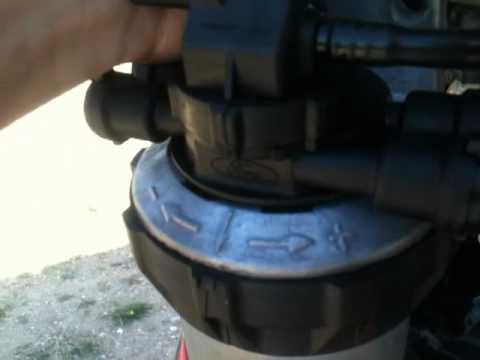 Ford Transit Kraftstofffilter Dieselfilter Komplett Mit
