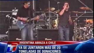 Gustavo Cerati & Andrés Calamaro - Crimen - Argentina Abraza a Chile