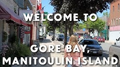Welcome to Gore Bay