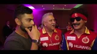 Yet another party crashed by the RCB Insider!