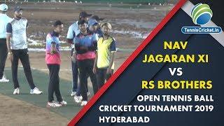 Match 3 | (Raigad )  | Nav jagaran Xi  Vs /RS Brothers 2019 , Hyderabad