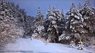 "Christmas Music-""Silent Night""-Piano Music slow"