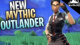 "FORTNITE - New Mythic Outlander ""Field Agent Rio"" Coming Soon"