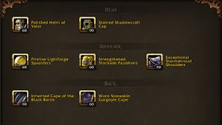 Where to find the New Heirlooms and Upgrades! World of Warcraft 6.1.2