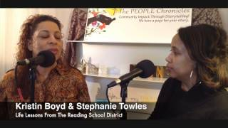 Reading and Reading Rocks! Meet Stephanie Towles!  The People Chronicles