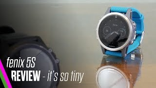 Garmin fenix 5S Review - Best smartwatch/activity tracker for small wrists and women