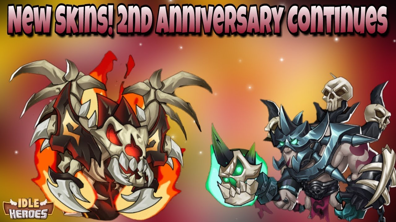 Idle Heroes (O) - NEW Events, NEW Skerei and Kroos Skins! 2nd Anniversary  Continues