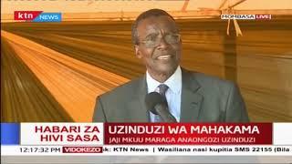 Jaji mkuu David Maraga aongoza hafla ya uzinduaji wa mahakama ya rufaa Mombasa